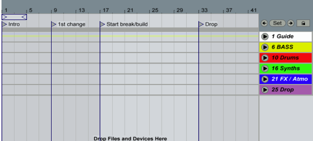 Ableton Live Organization Tips: Setting Your Track Up For Success