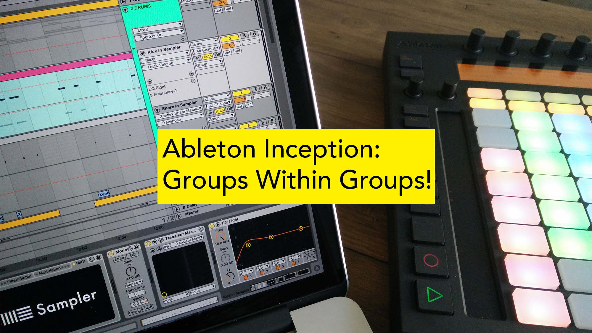 Ableton group tracks