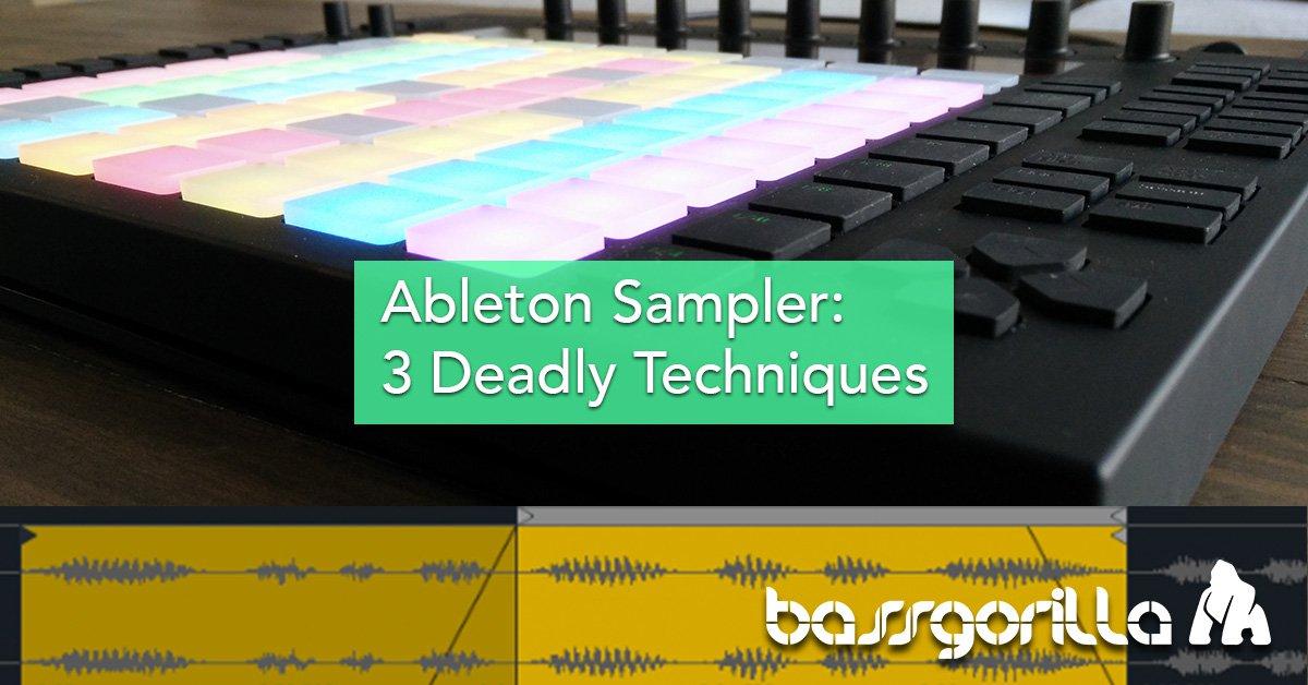 Ableton Sampler Tutorial