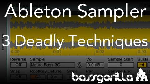 Ableton sampler & simpler kreativ nutzen:: bonedo.