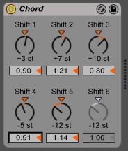 Ableton Chord Seventh Chords