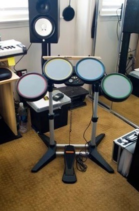 rock band drum kit