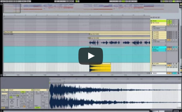 Reverse Vocal Swell Trick in Ableton Live with GDLK