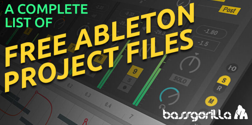 free Ableton Live project files